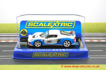 Scalextric C3520 Lotus Exige R-GT No.16 White/Blue